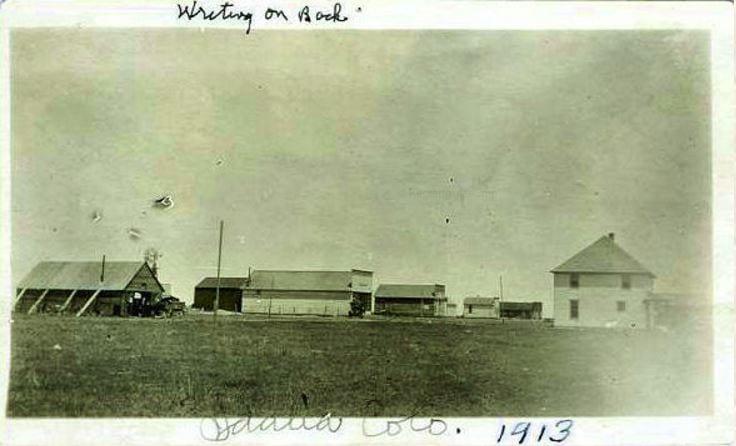 Idalia, Colorado Circa 1913