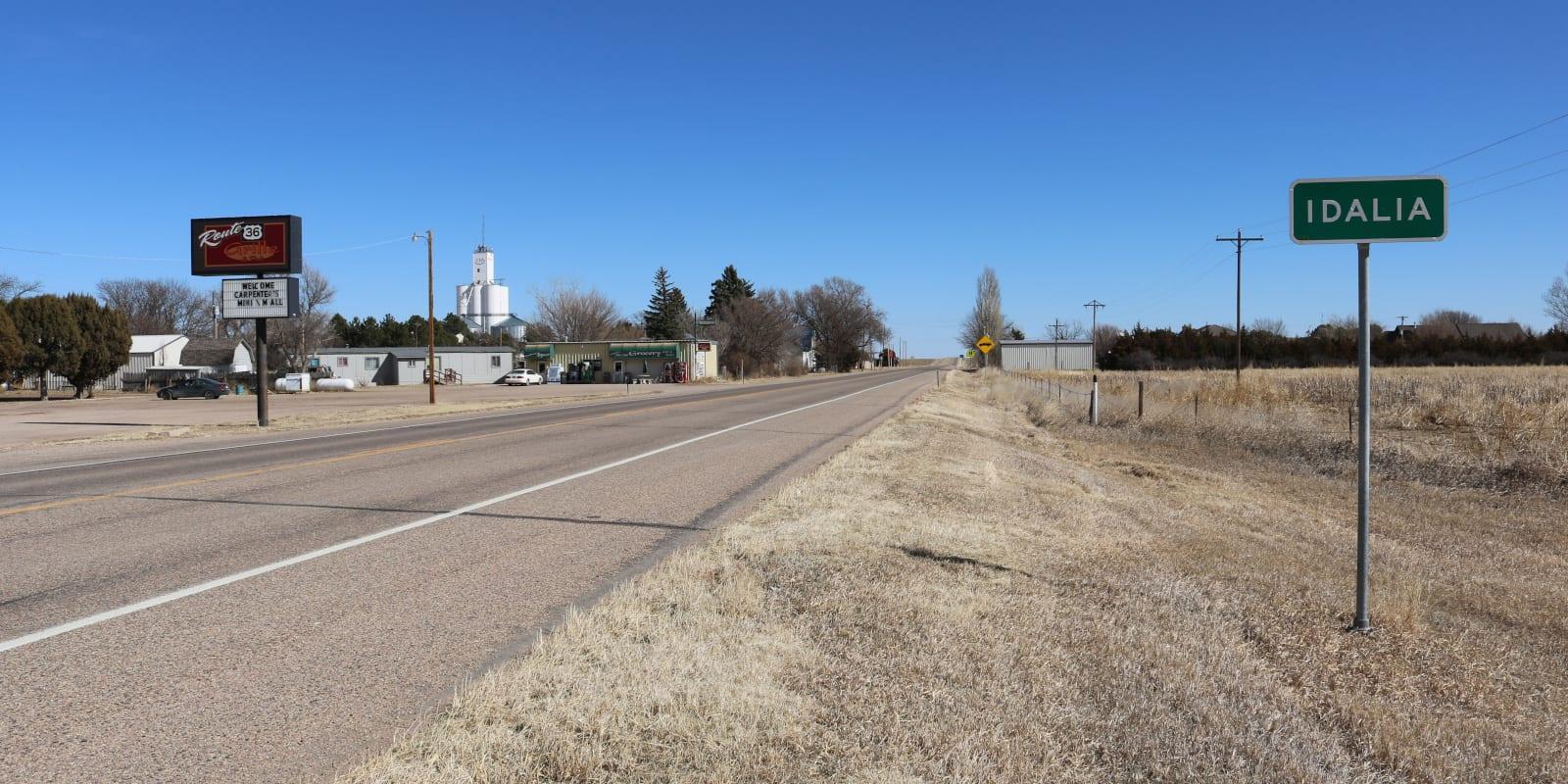 Idalia Colorado U.S. Route 36