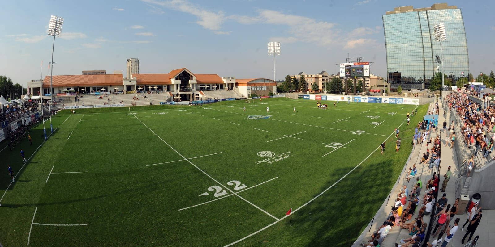 Infinity Park at Glendale Rugby Match Air Force vs Marine Corps
