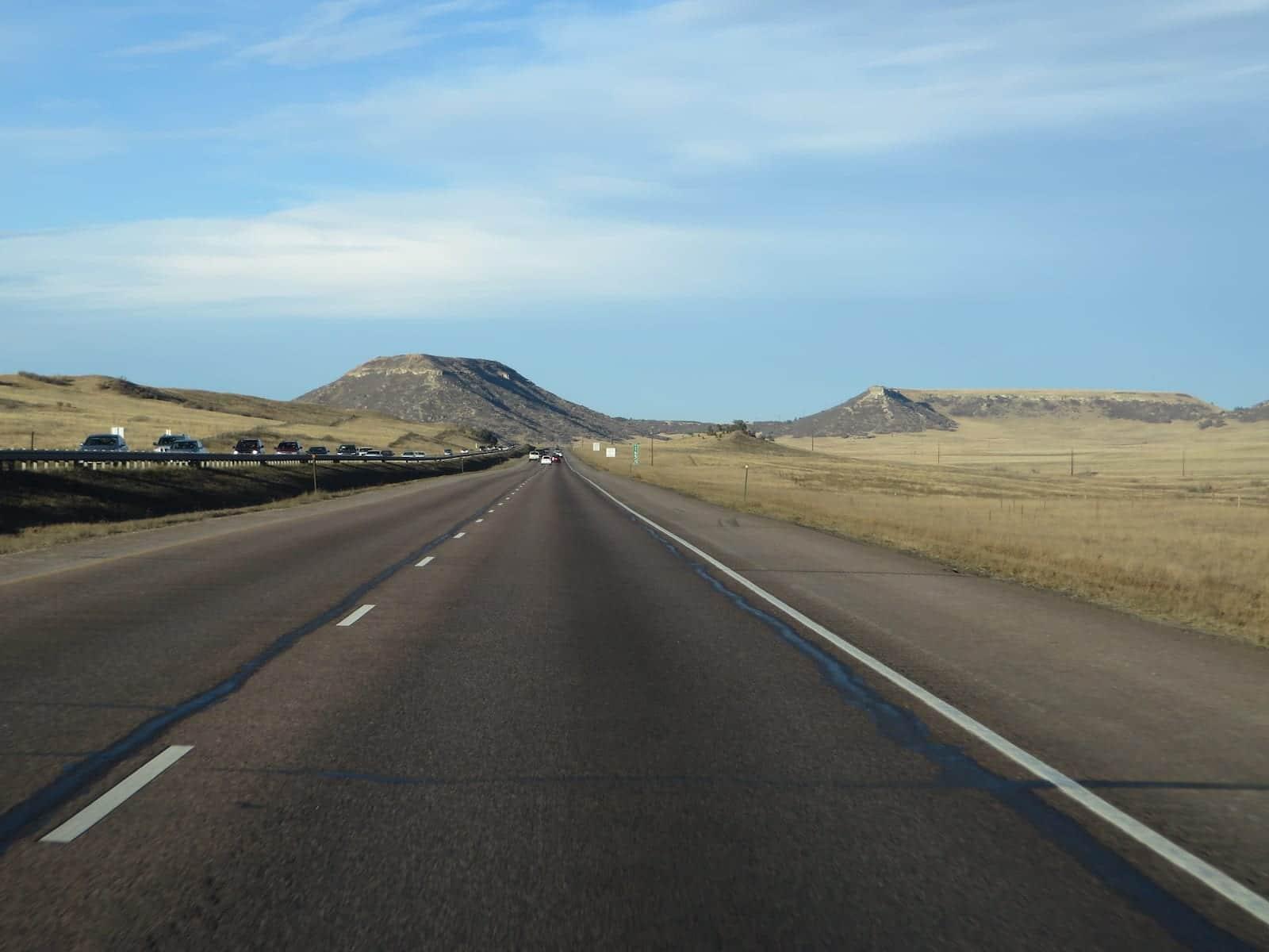 Interstate 25 Between Colorado Springs and Castle Rock