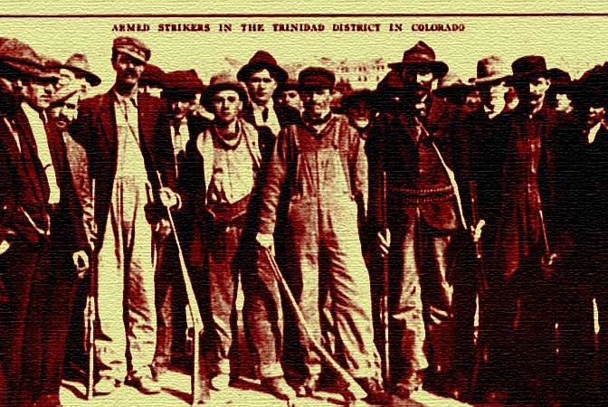 Ludlow Massacre Strikers Colorado