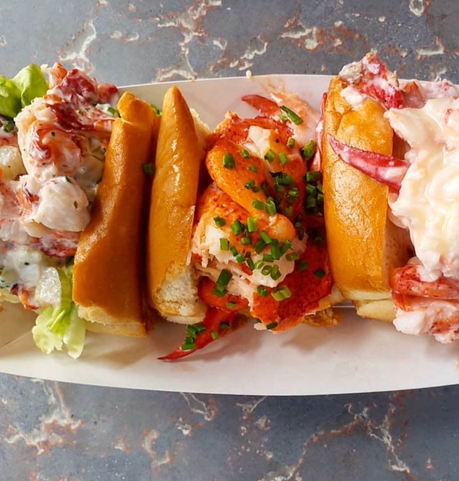 image lobster rolls at maine shack