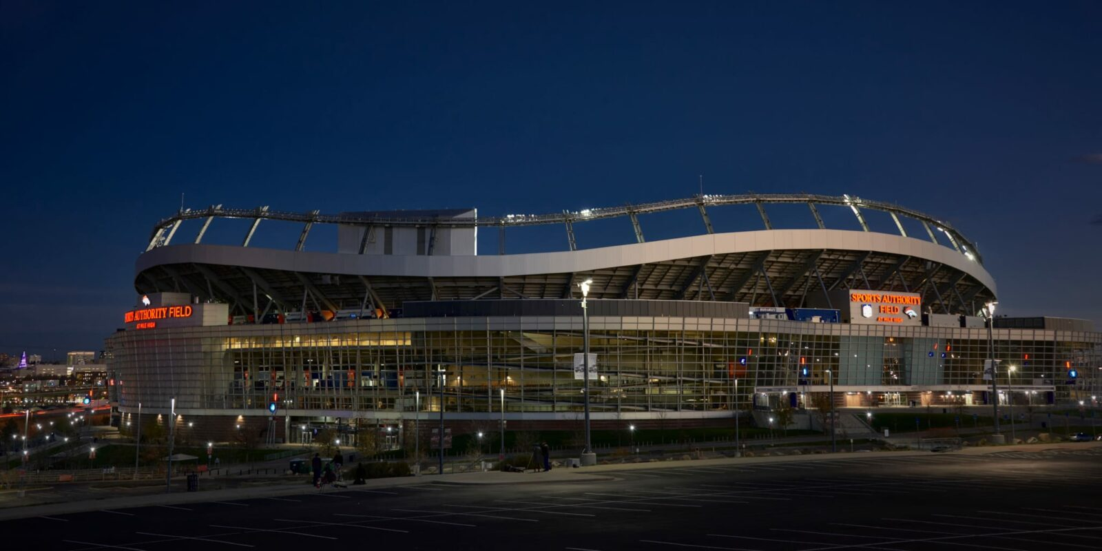 Sports Authority Field at Mile High Stadium Denver Colorado