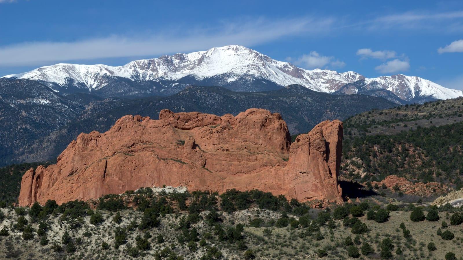Pikes Peak Garden of the Gods Colorado Springs