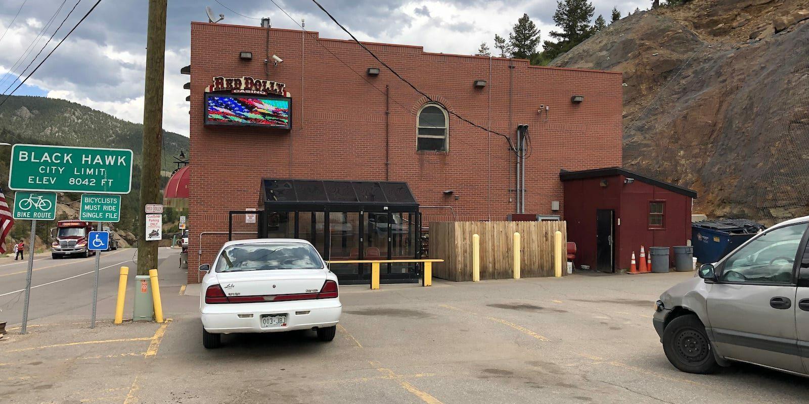 Red Dolly Casino Black Hawk CO Parking Lot