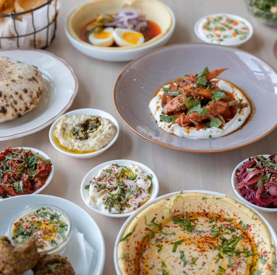 image of food from safta restaurant