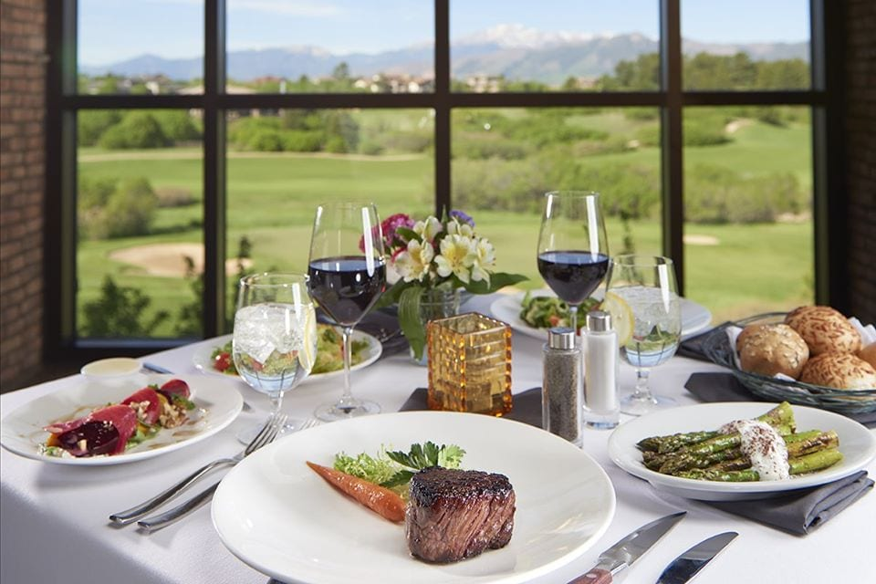 steakhouse at flying horse, colorado springs