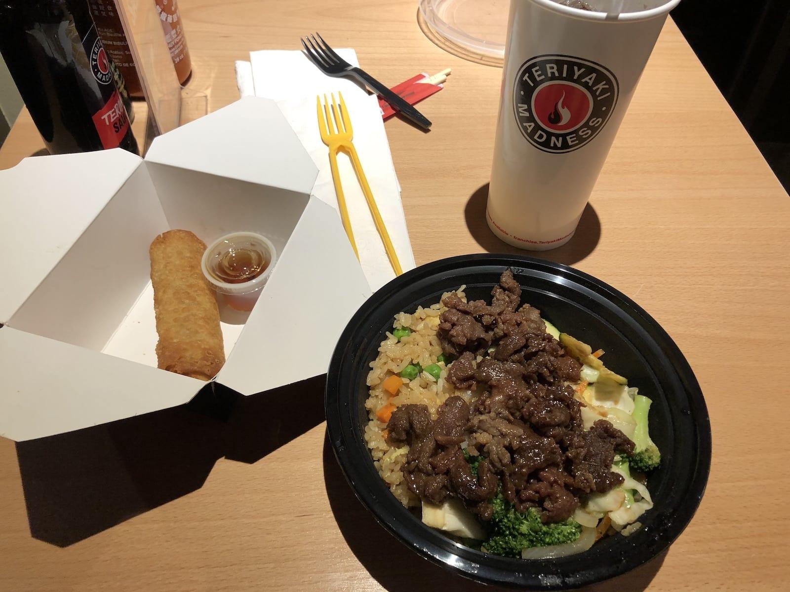 Teriyaki Madness Beef Teriyaki Fried Rice