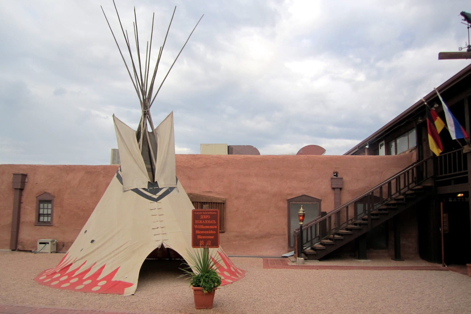 The Fort Morrison CO Teepee