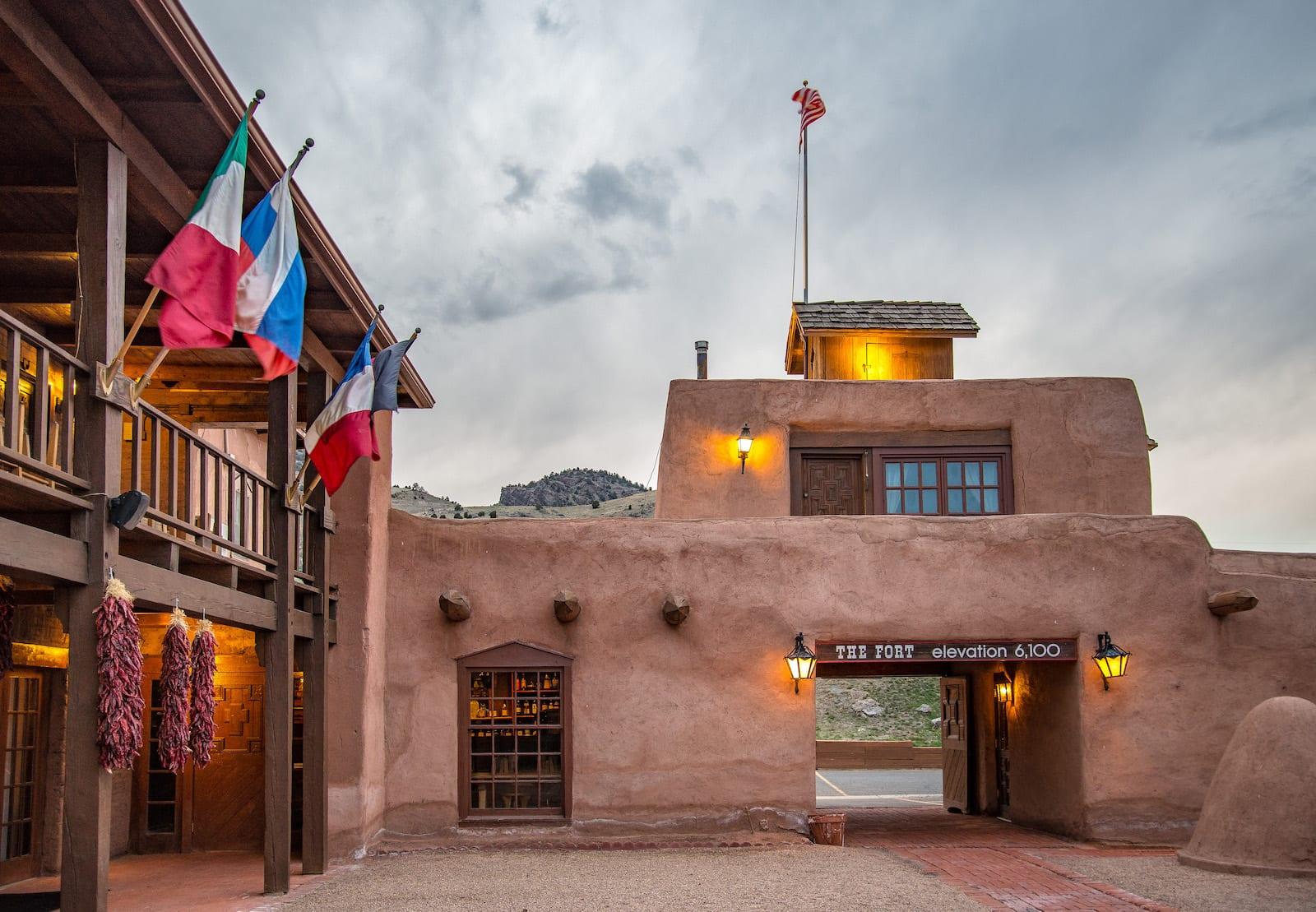 The Fort Restaurant Morrison CO Based on Bent's Old Fort