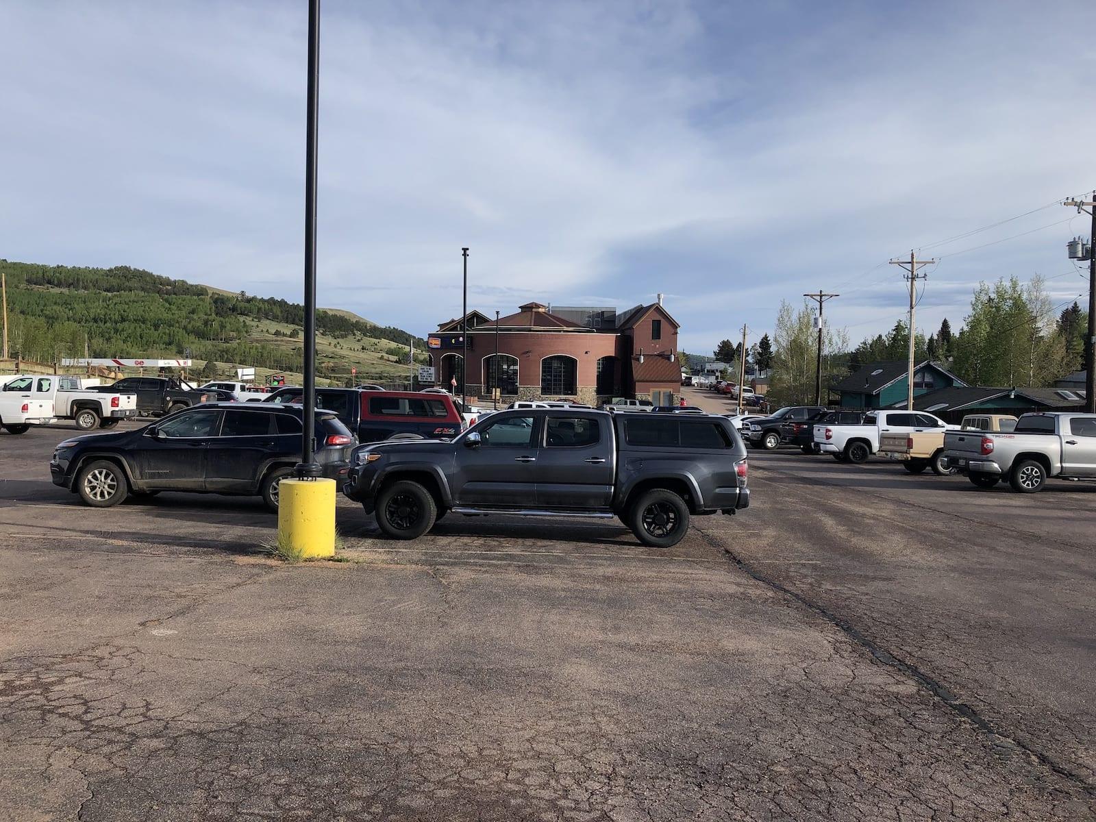 Wildwood Casino Cripple Creek CO Parking Lot