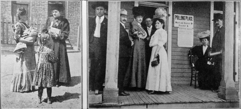Woman Suffrage Colorado 1893