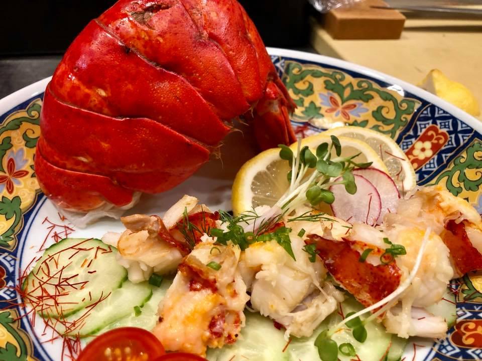 lobster dish at Amu in boulder
