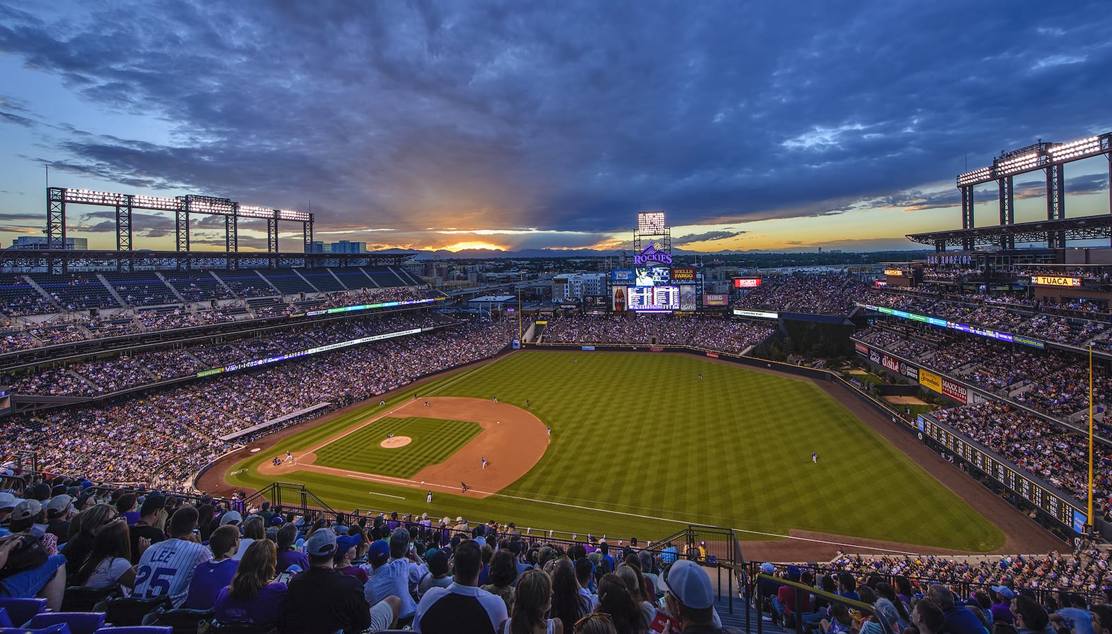 Coors Field Sunset, CO