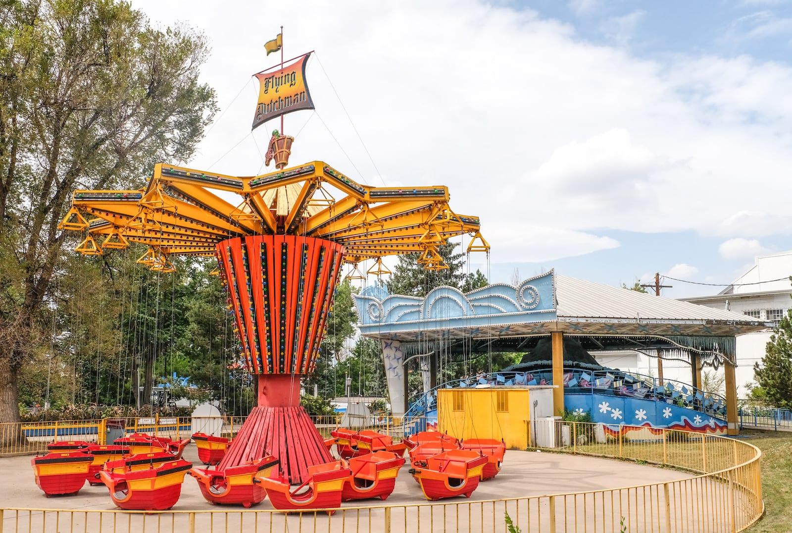 Flying Dutchman Lakeside Amusement Park Denver, Colorado