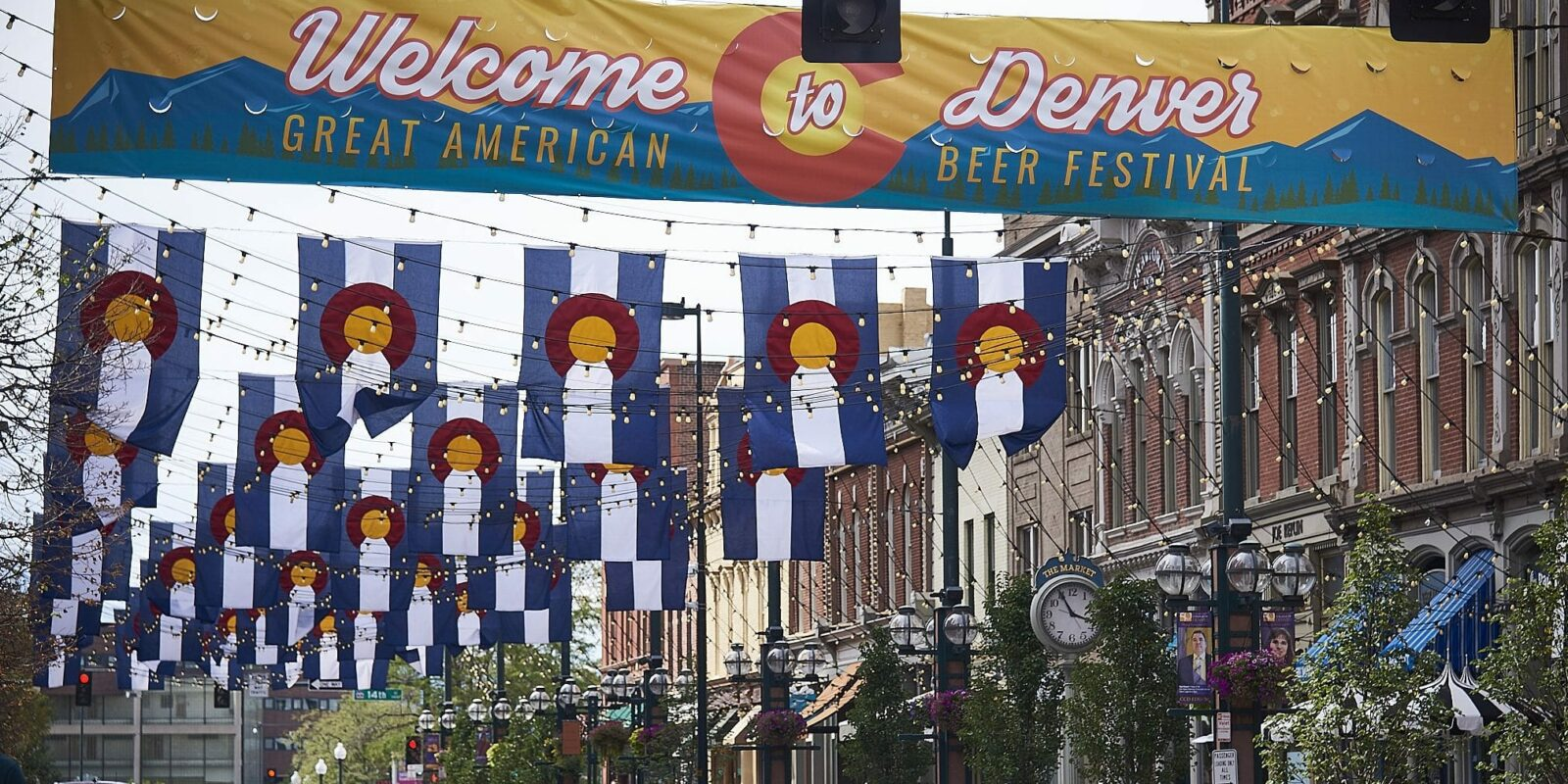 image of sign for great american beer festival denver