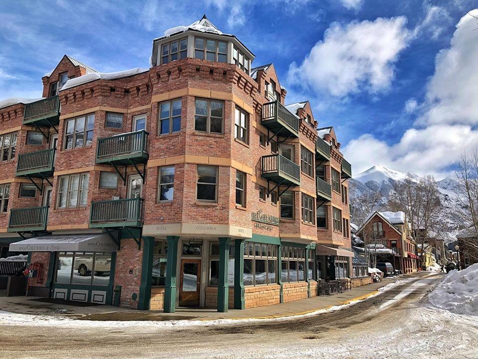 hotel columbia in telluride colorado