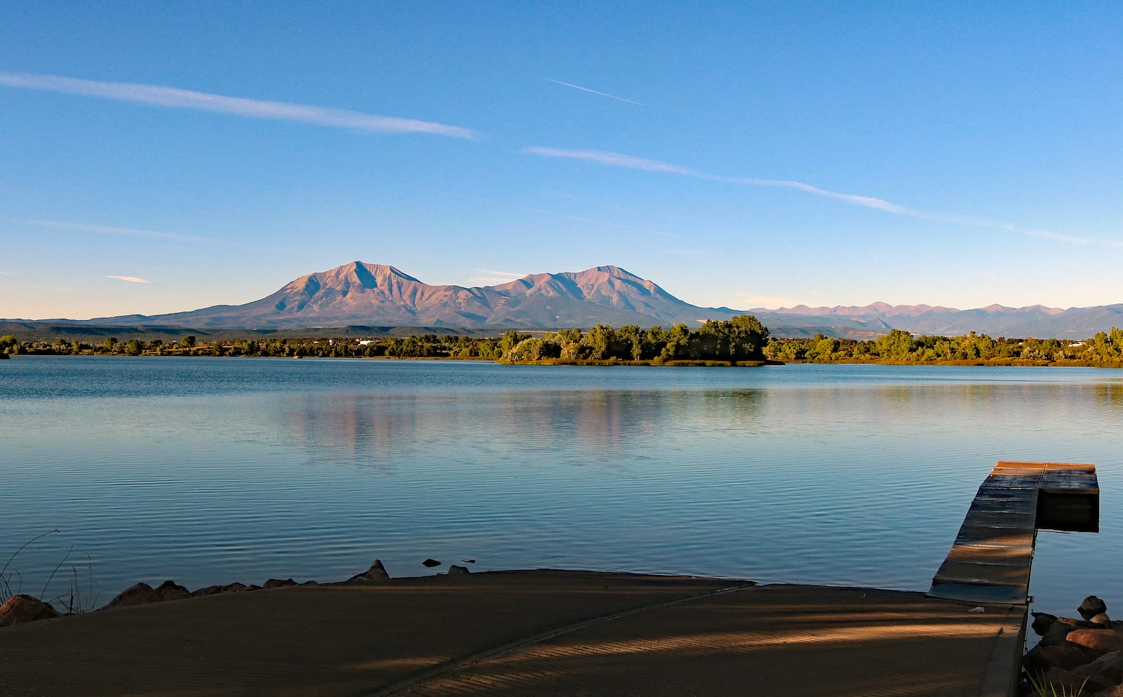 Lathrop State Park Colorado Boat Ramp