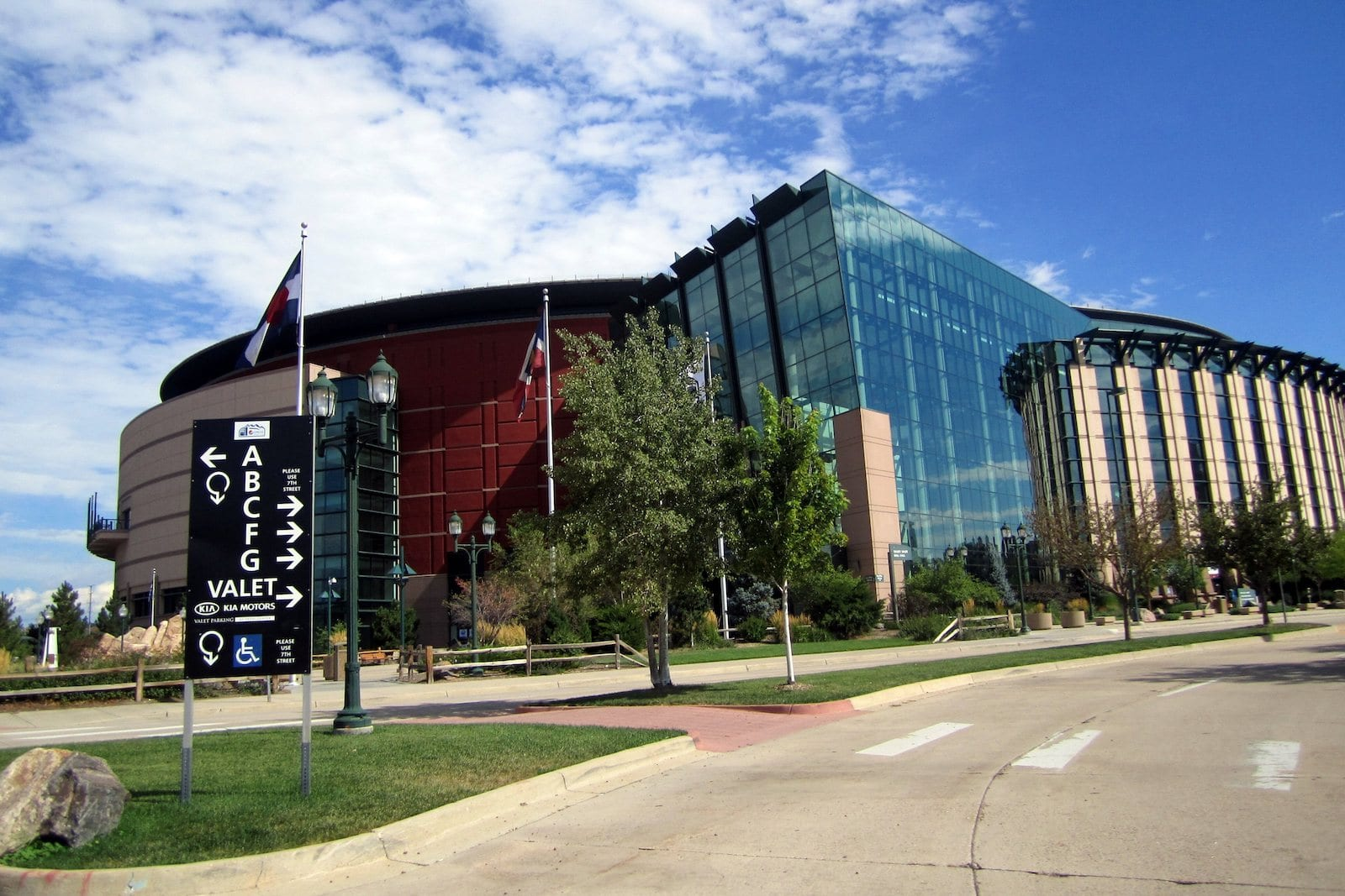 Pepsi Center, Denver- CO