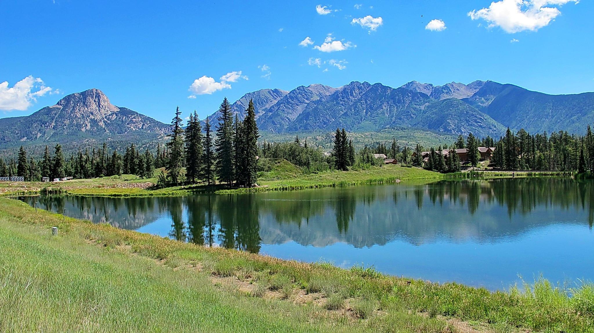 image of purgatory trail near Durango
