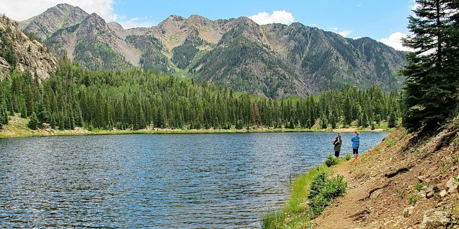 image of spud lake trail