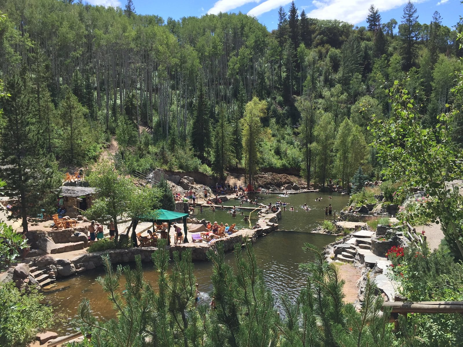 Strawberry Park Hot Springs, CO