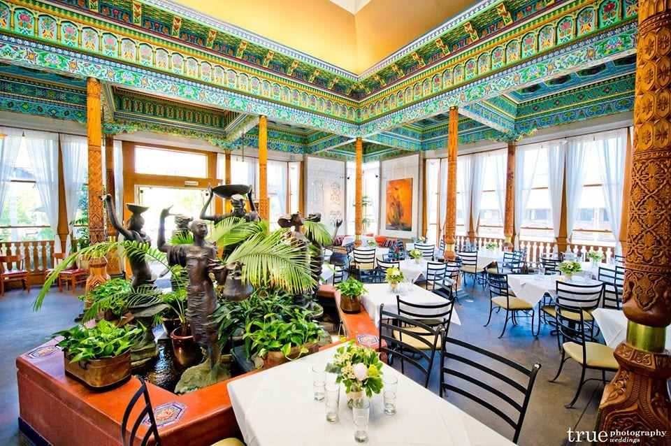 inside the dushanbe teahouse in boulder