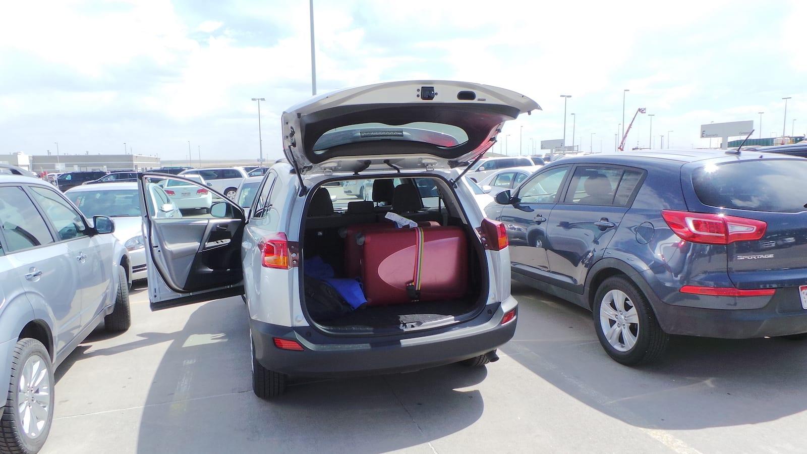 Car Rental Denver Airport Alamo Parking Lot