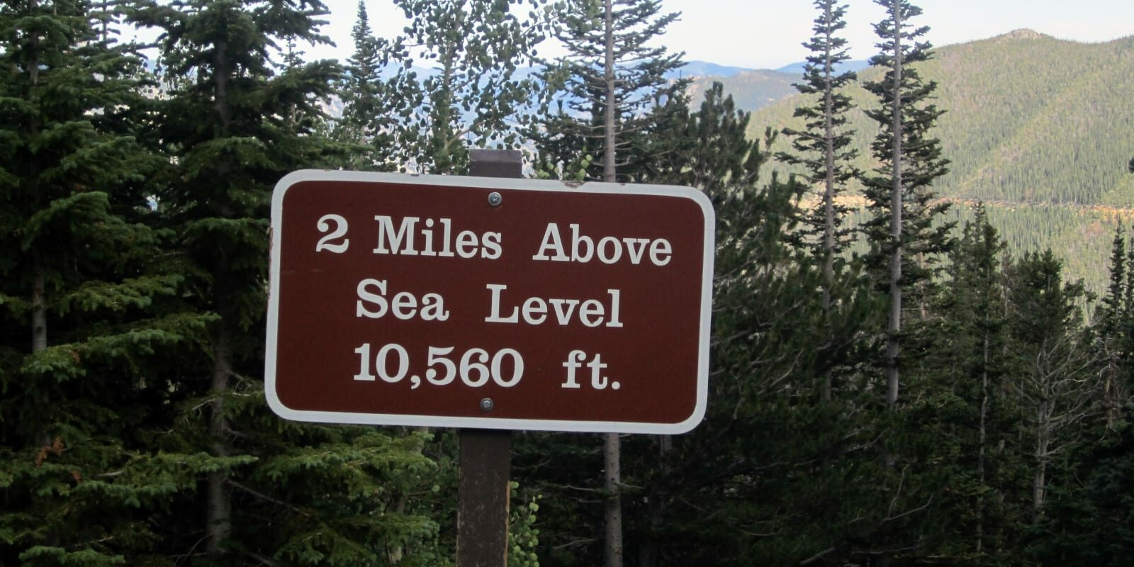 Colorado Slang Two Miles High RMNP Trail Ridge Road
