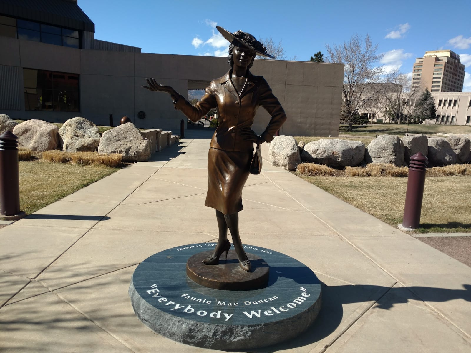 Fannie Mae Statue Colorado Springs