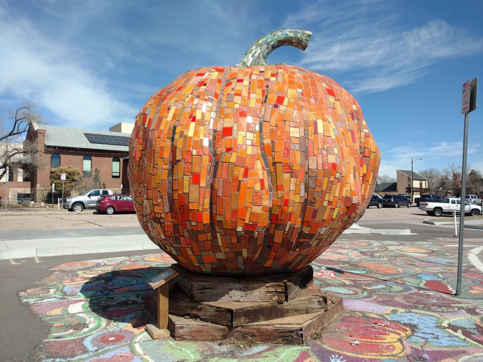 Patung Labu Besar Colorado Springs