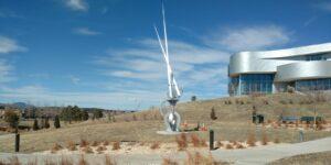 Metronome Sculpture Colorado Springs