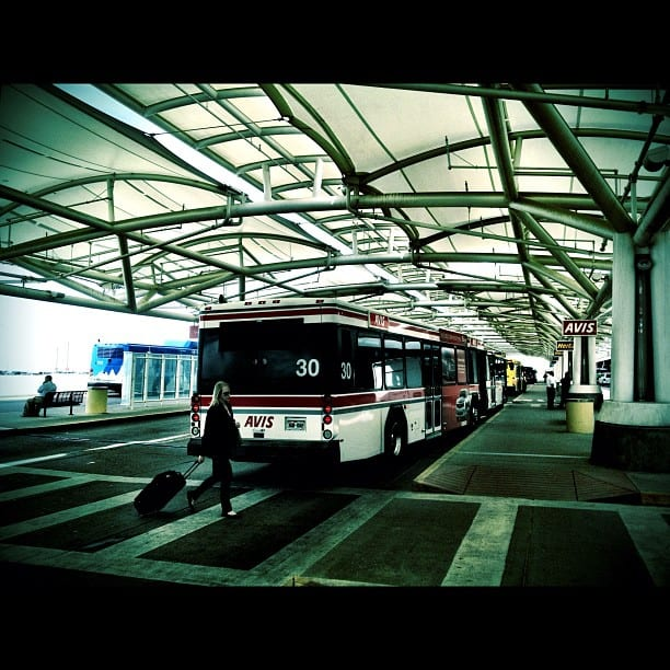Denver Airport Rental Car Buses Jeppesen Terminal