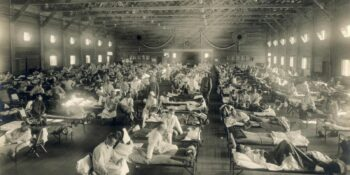 Spanish Flu Camp Funston Kansas Emergency Hospital