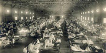 Spanish Flu Camp Funston Kansas Emergency Hospital
