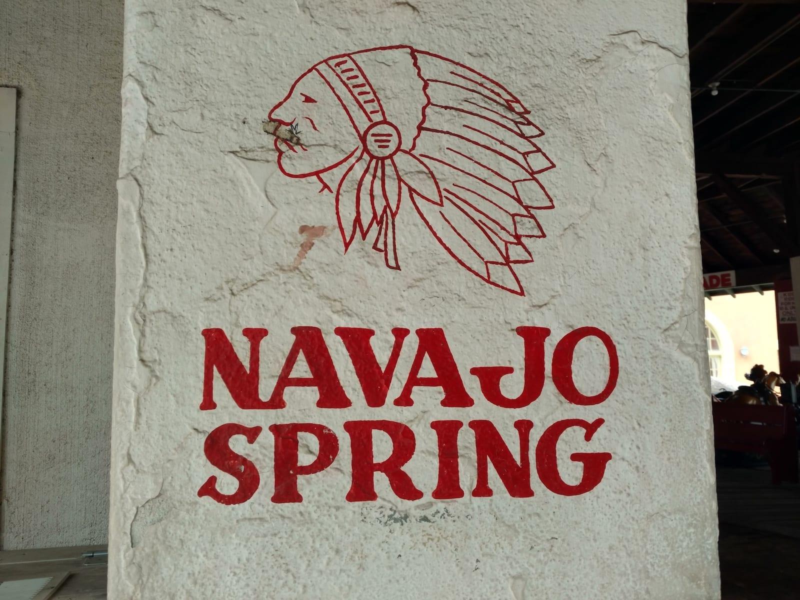 Navajo Spring Water Fountain Manitou Springs CO