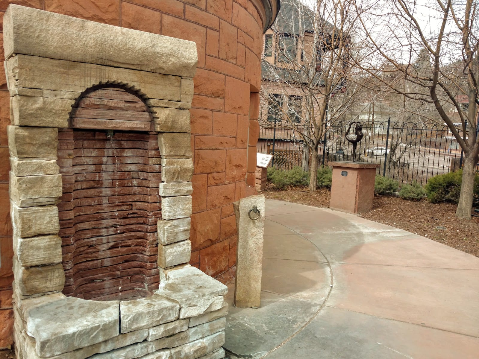 Shoshone Spring Water Fountain Manitou Springs CO