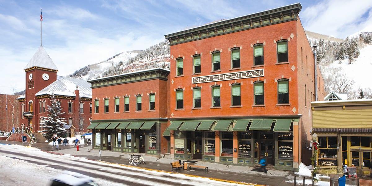 New Sherdian Hotel Telluride CO