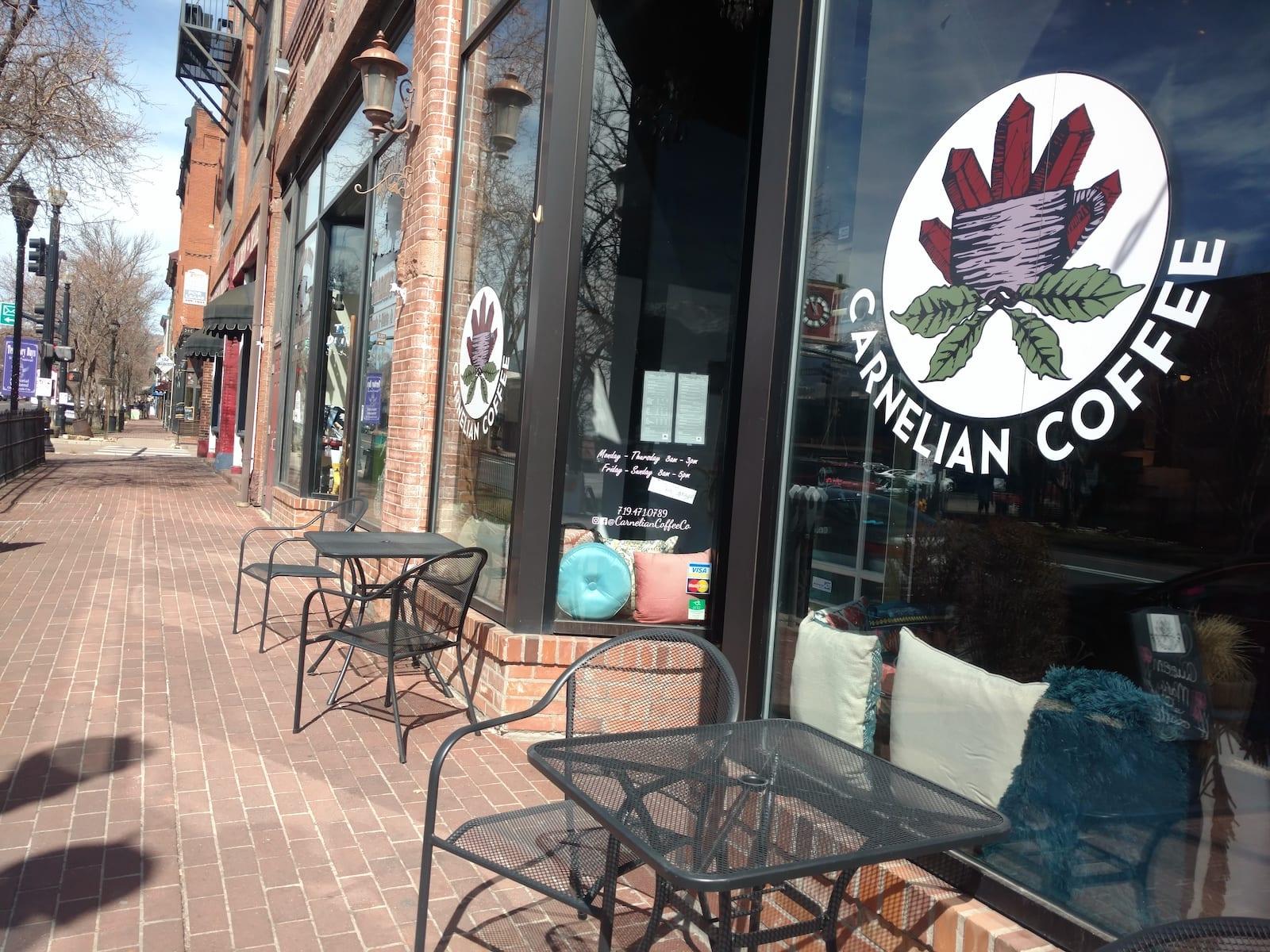 Carnelian Coffee Colorado Springs