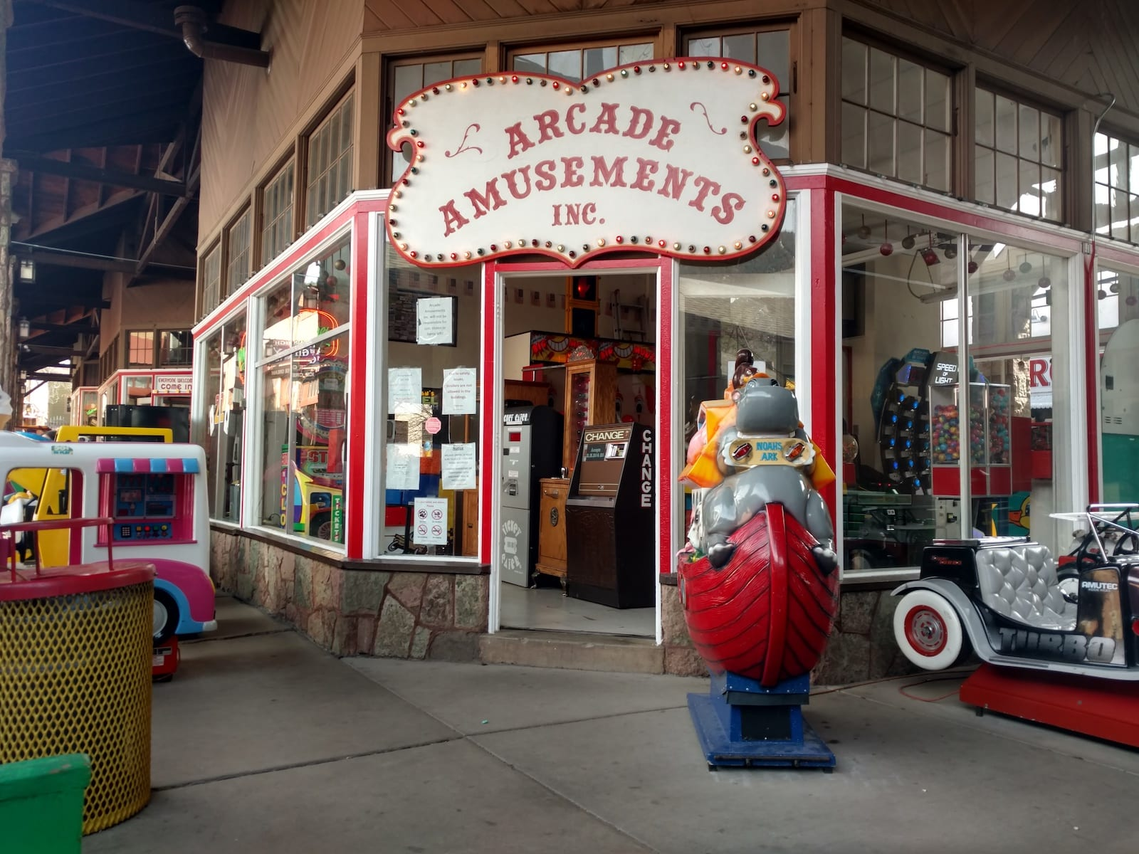 Penny Arcade Manitou Springs CO