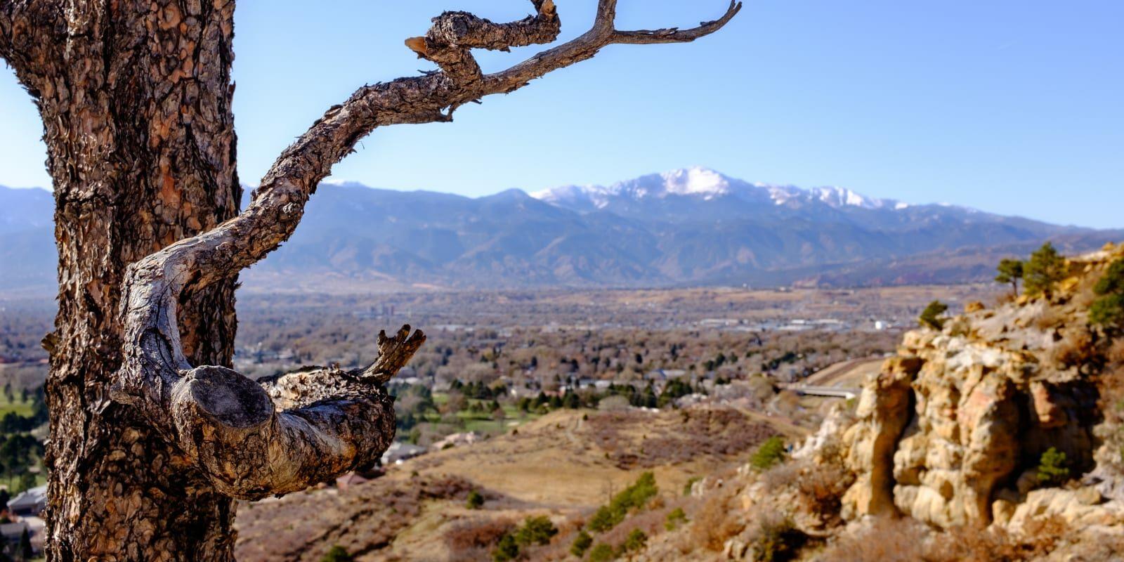 Palmer Park Colorado Springs Free Activity Pikes Peak Background