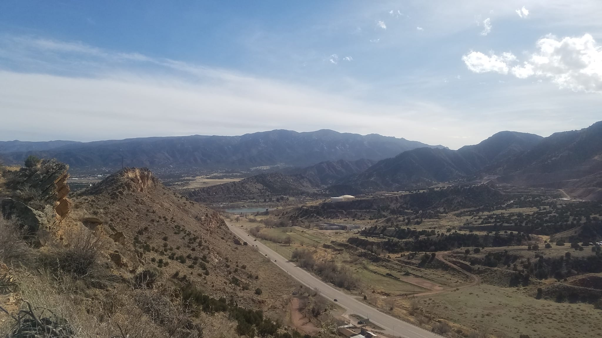 U.S. 50 from Skyline Drive in Canon City