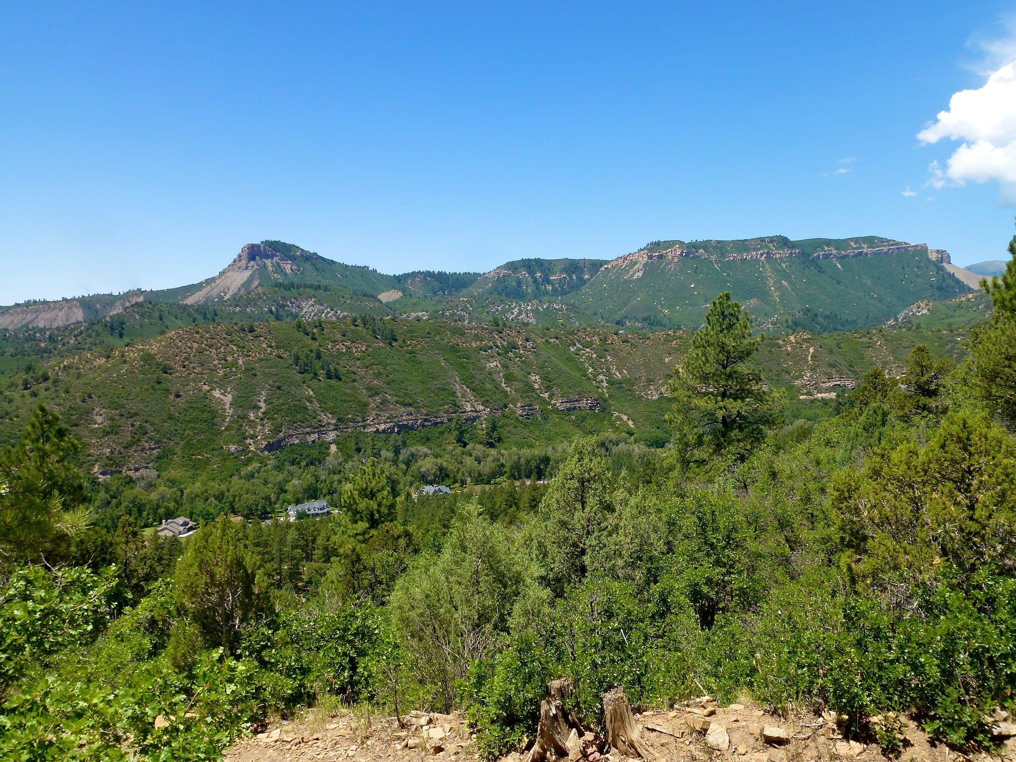 smelter mountain above durango