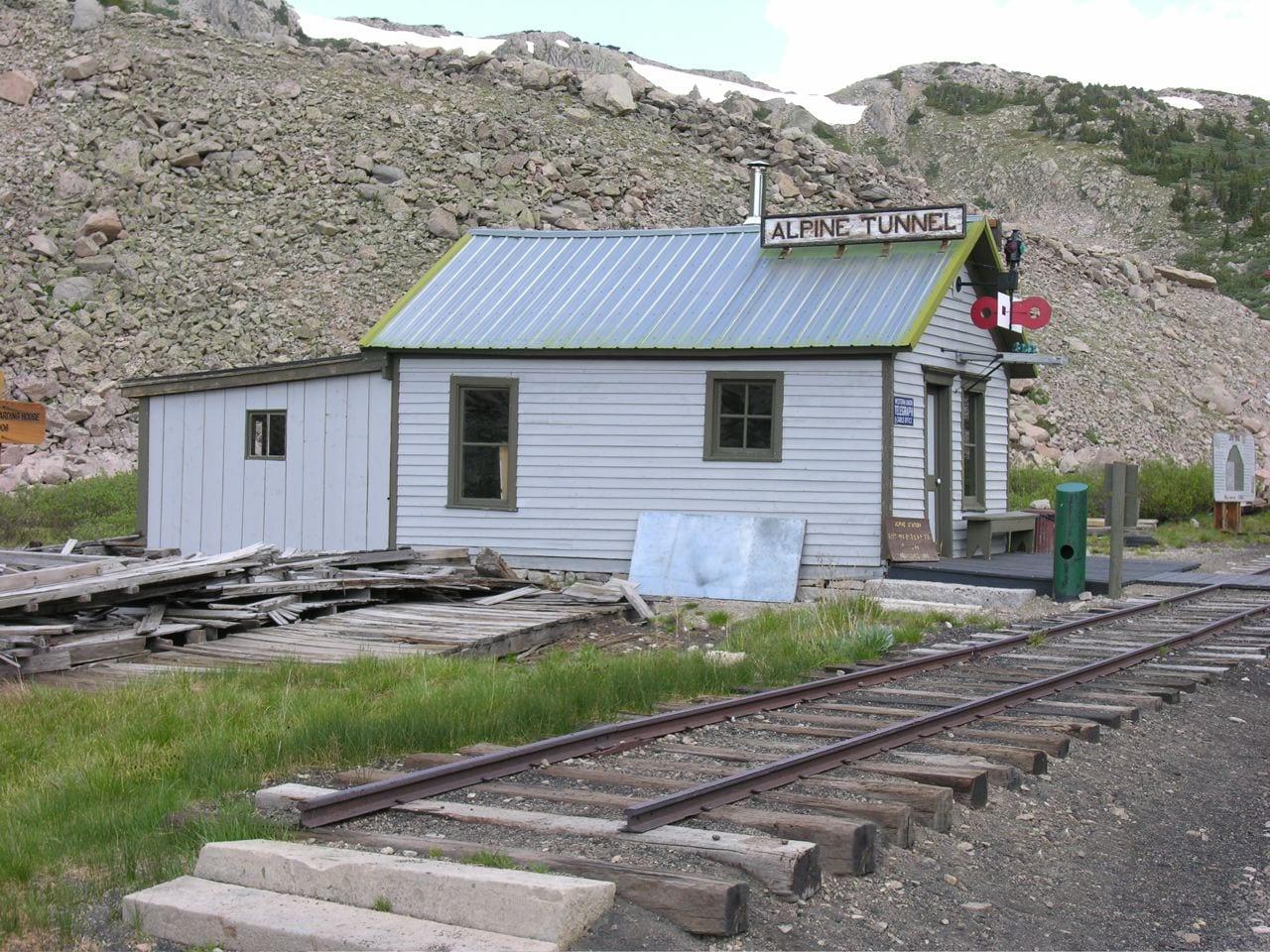 Alpine Tunnel telegraph station, CO