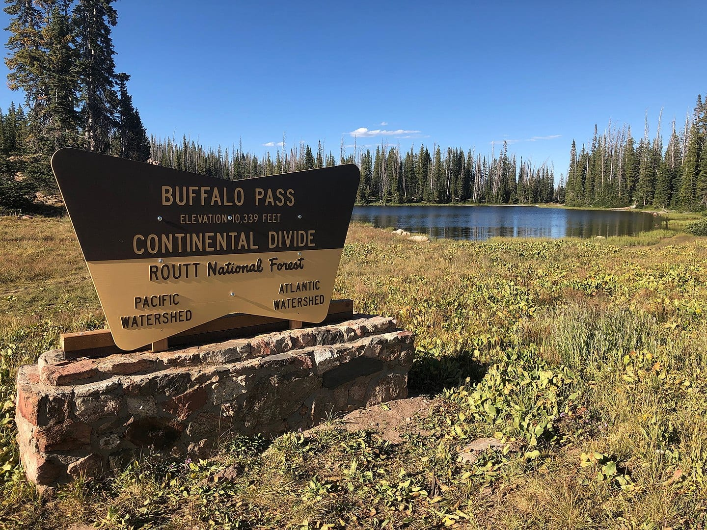 buffalo pass continental divide