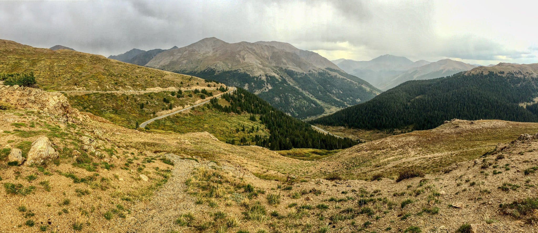 continental divide independence pass