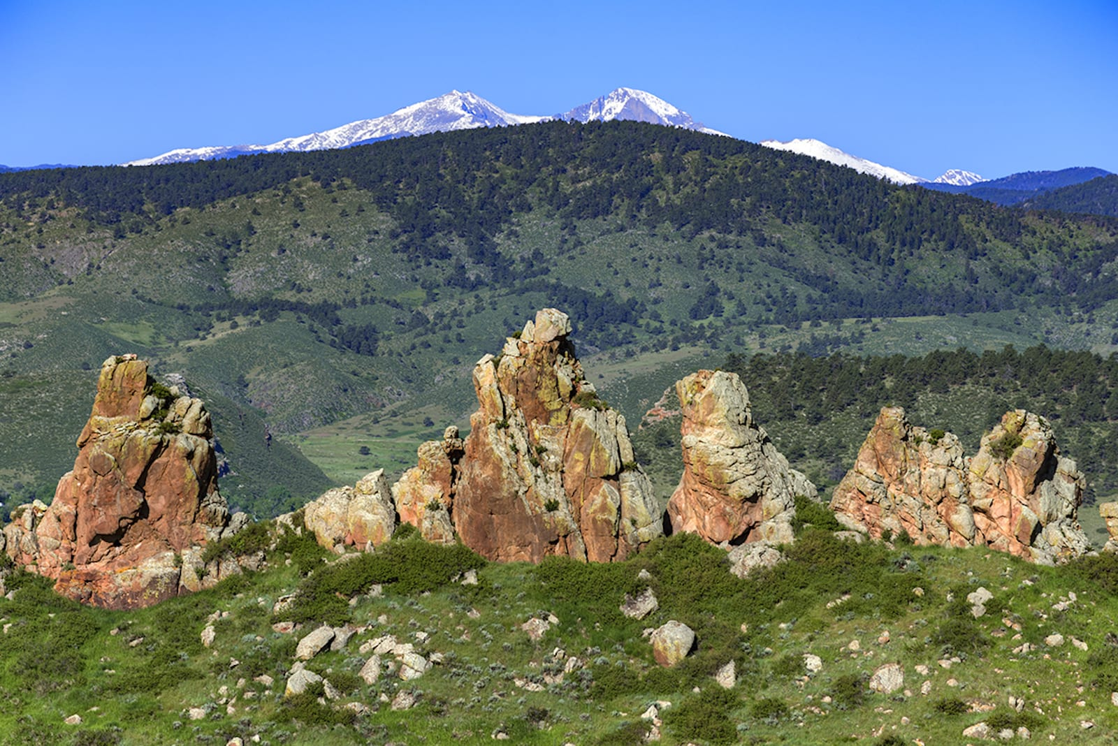 Devil's Backbone Open Space, Colorado
