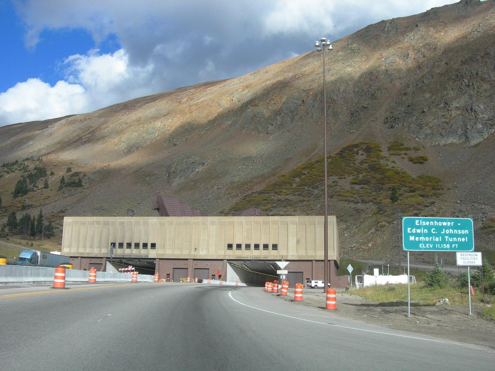 Eisenhower–Edwin C. Johnson Memorial Tunnel, CO