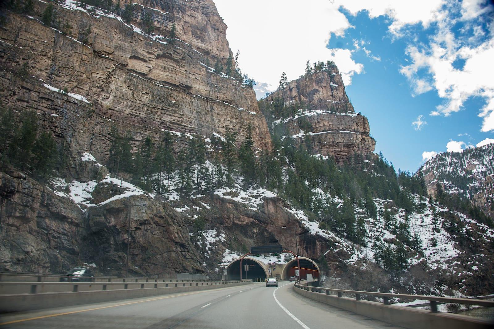 Hanging Lake Tunnel, Colorado