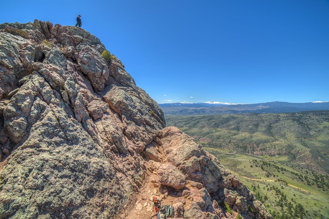 Horsetooth Mountain, CO.